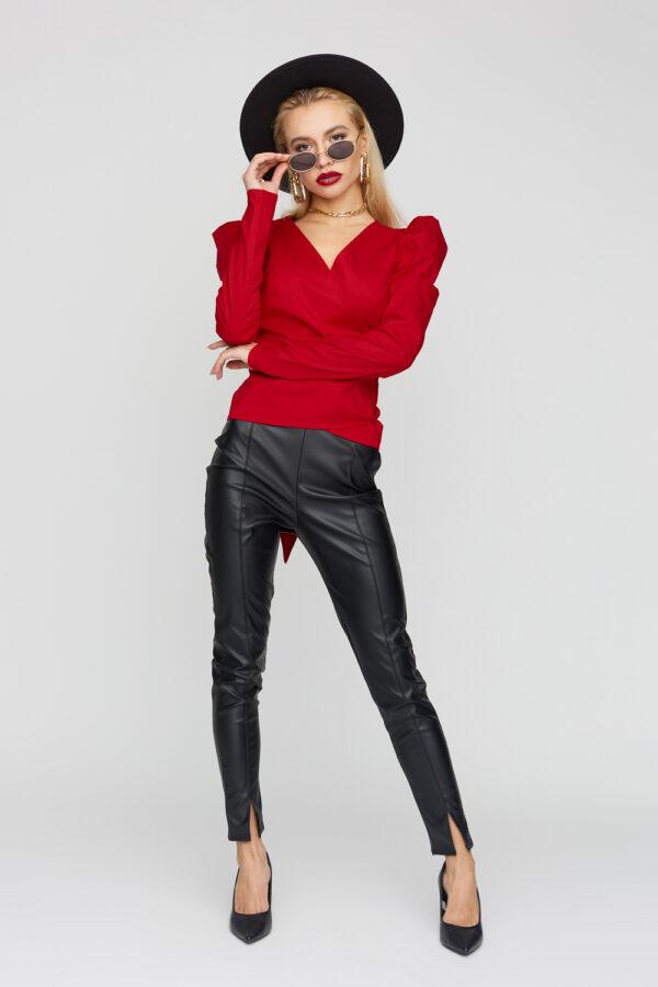 Блуза Ирис Красный Karree