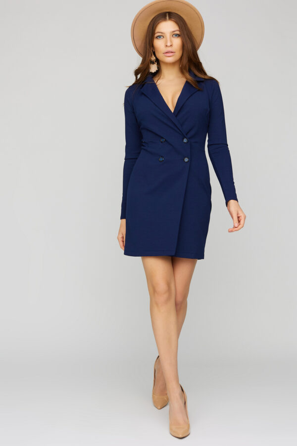 Платье Лиора Темно-синий Karree