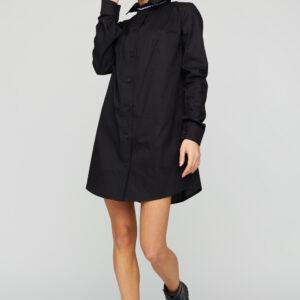 Платье-рубашка Джуди Черный Karree купить Рубашка