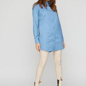 Платье-рубашка Джуди Голубой Karree купить Рубашка