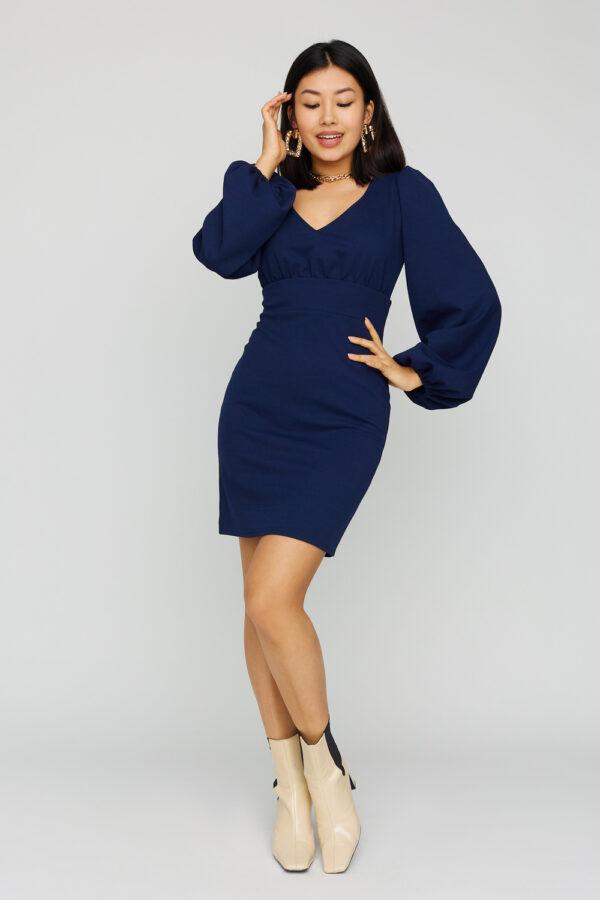 Платье Кармела Темно-синий Karree