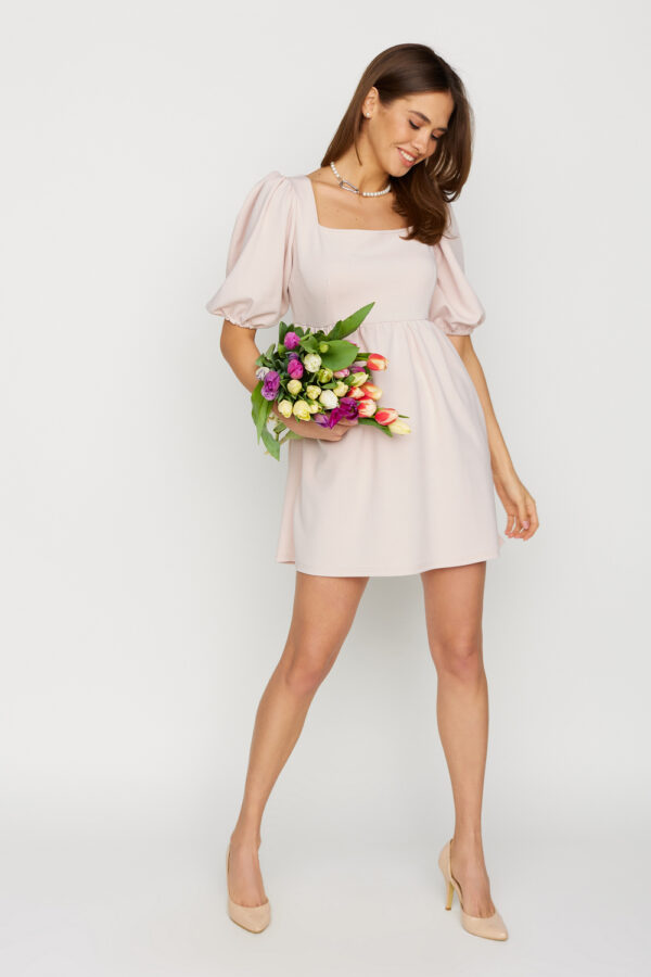 Платье Келли Пудровый Karree