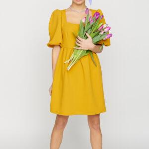 Платье Келли Горчичный Karree купить Платье