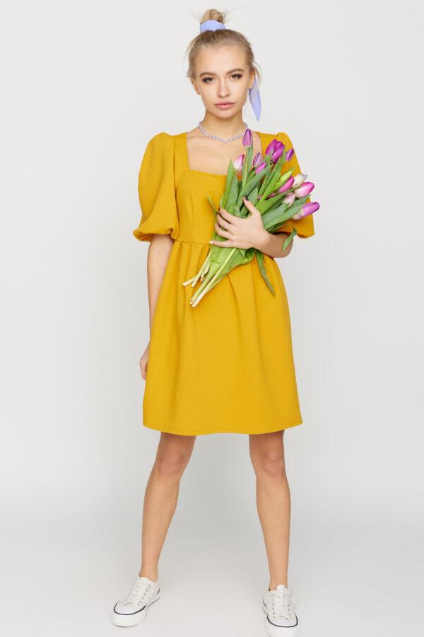 Платье Келли Горчичный Karree
