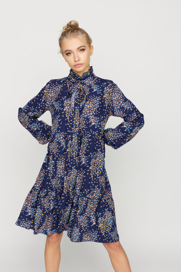 Платье Морин Синий Karree