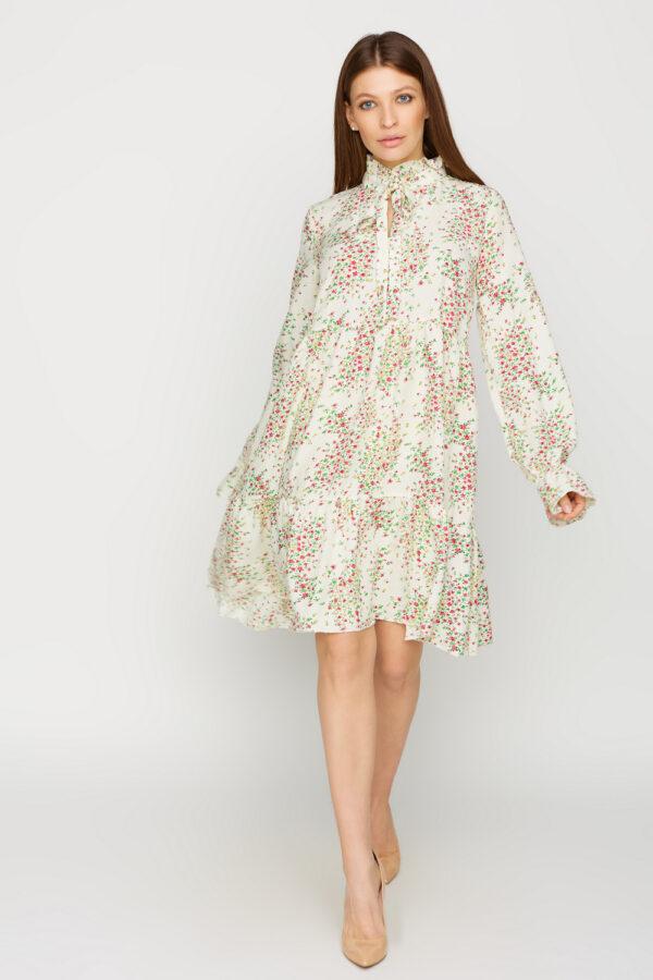 Платье Морин Белый Karree