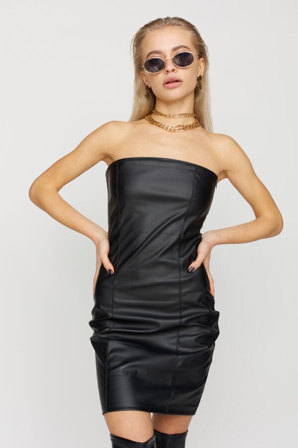 Платье Бренда Черный Karree