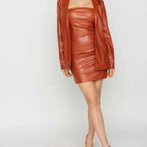 Платье Бренда Рыжий Karree купить Платье