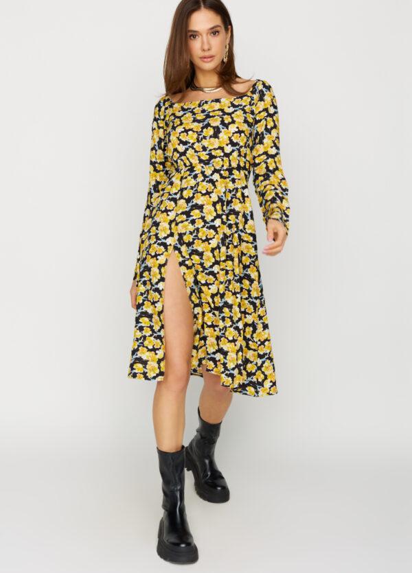 Платье Дорис Черный Karree