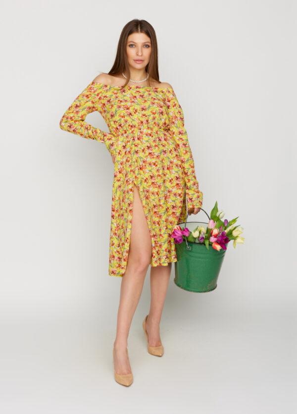 Платье Дорис Желтый Karree