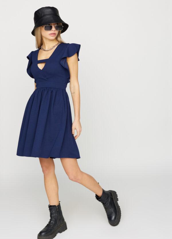 Платье Айрин Темно-синий Karree