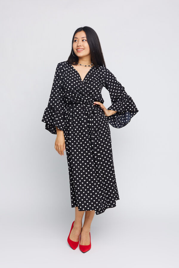 Платье Бетти Черный Karree