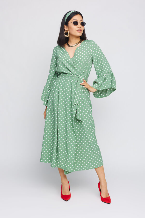 Платье Бетти Оливковый Karree