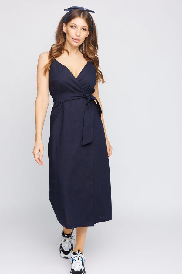 Платье Сенди Темно-синий Karree
