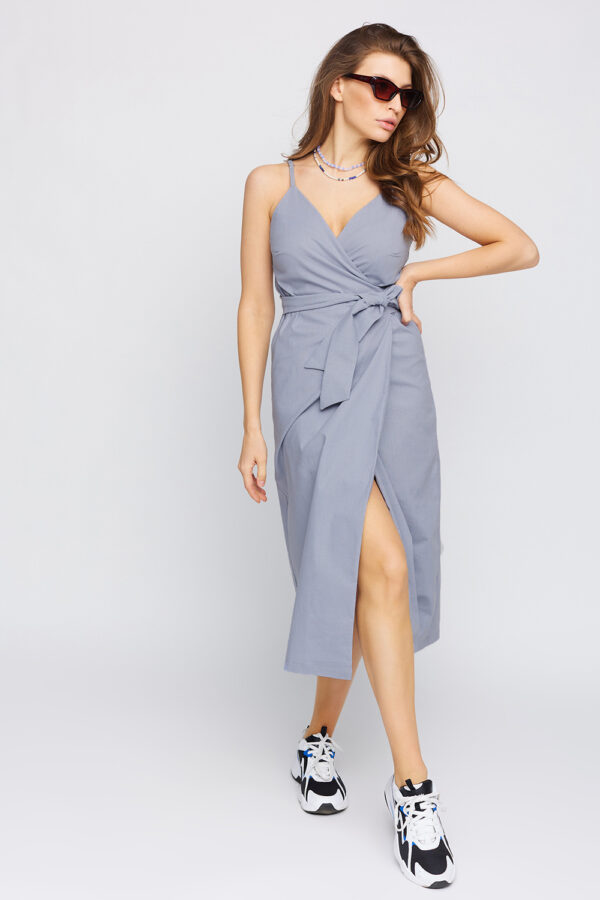 Платье Сенди Серый Karree