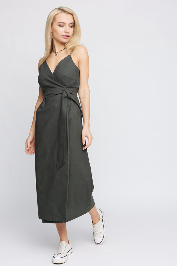 Платье Сенди Хаки Karree