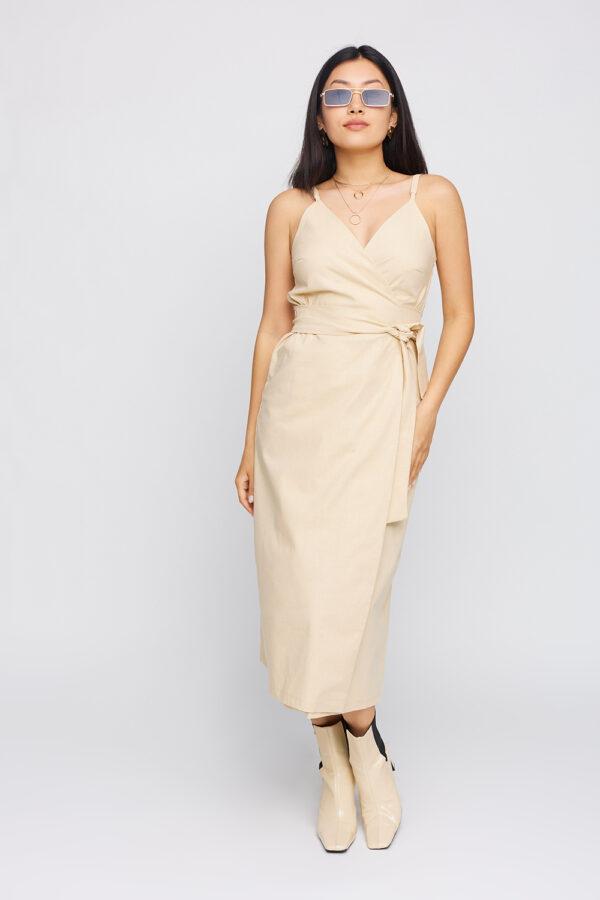 Платье Сенди Бежевый Karree