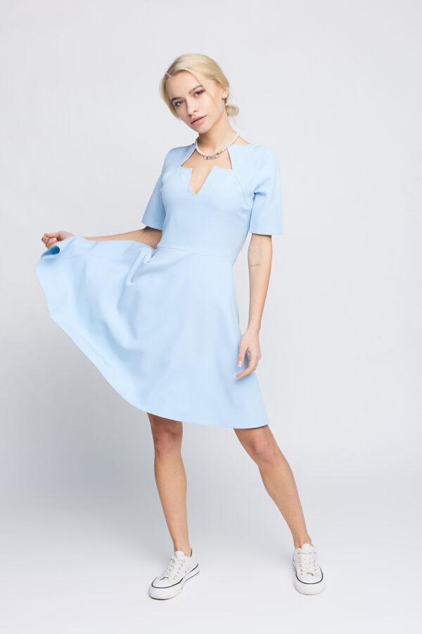 Платье Рэй Голубой Karree