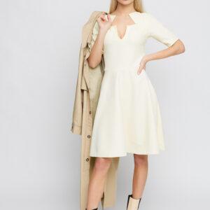 Платье Рэй Светло-желтый Karree купить Платье