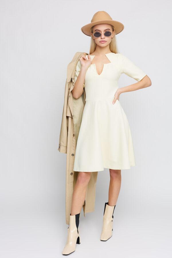 Платье Рэй Светло-желтый Karree